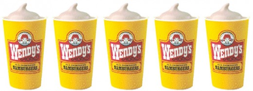 Wendy's Frosty Jr.