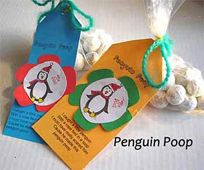 Penguin Poop Gift Tag