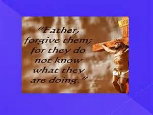 The reason we can forgive. Our example the Lord Jesus Christ.