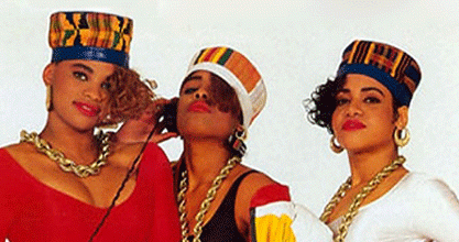 Salt N Pepa with Spindarella