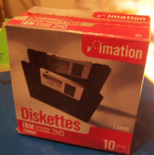 Remember diskettes? We've come a long way, baby! Digital storage solutions are so much cooler now.
