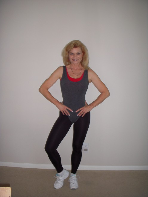 Laura Winters at age 53.  Exceptional health is possible throughout your life.