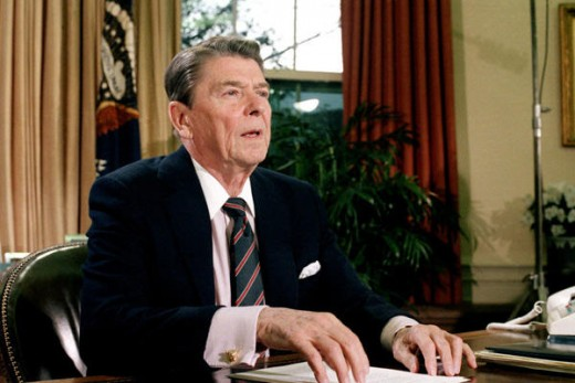 During the 1980s Ronald Reagan presided over the peak of fifty years of American global power, challenged only by the Soviet Union. He has come to symbolize American pride.