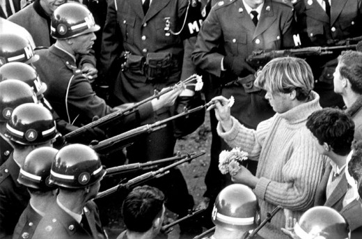 Chaotic and controversial, the protests of the sixties lasted throughout the decade with its members willing to risk threat of violence to protest against events in the nation they believed to be wrong; actions seen by many as unpatriotic.