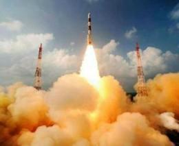 "PSLV C25 carries Mars Orbiter Mission ""Mangalyaan"" from Satish Dhavan Space Centre , Sriharikota"