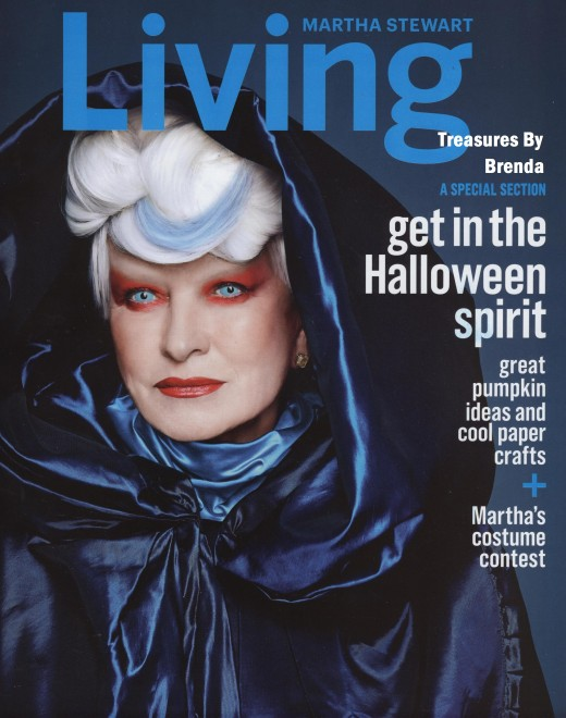 Martha Stewart Living Halloween October 2014 Magazine