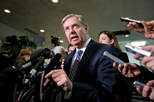 "Senator Lindsey Graham warns the U.S. that, ""If he (President Obama) does not go on the offensive against ISIS, ISIL -- whatever you want to call these guys -- they are coming here,"""