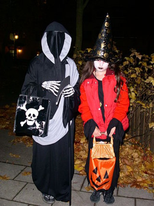 Trick Or Treating is still a very popular custom in most parts of the United States.