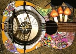 classical recycled resonator guitar