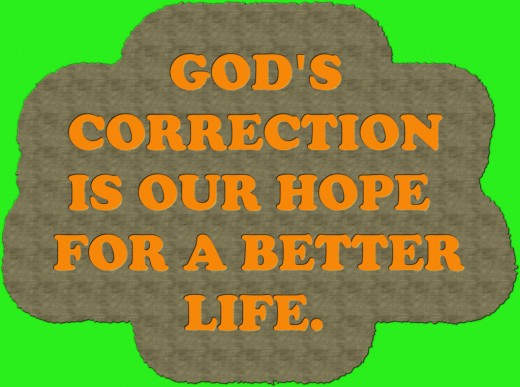 God corrects those He loves