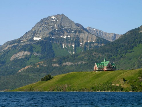Waterton Lakes National Park, Prince of Wales Hotel. Alberta