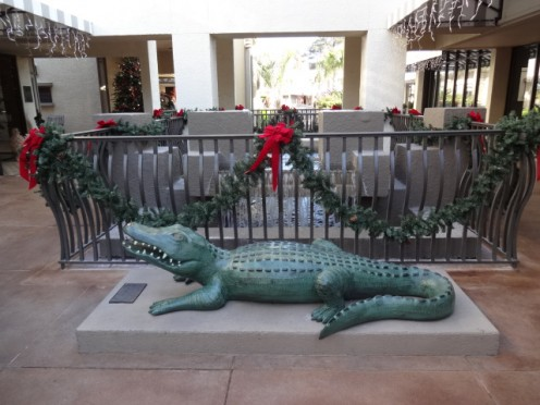 Christmas Gifts and Gators... Gotta Love It!