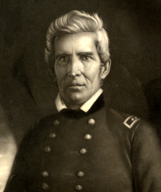 Butler in his military uniform