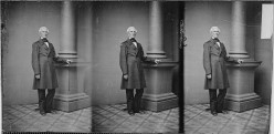 Butler in his later years, by Mathew Brady
