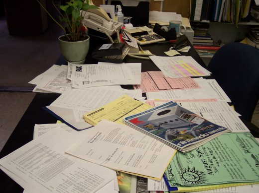 The eternal pile of stuff
