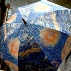 Unique Umbrellas Featuring Famous Art Paintings