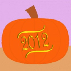 Year 2012 Pumpkin Carving Stencils