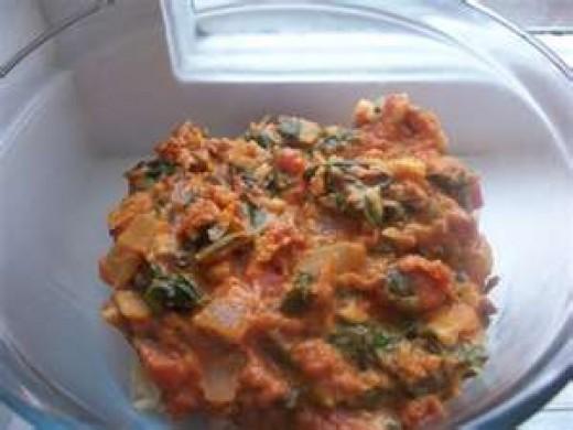Dovi (Zimbabwe Chicken Stew)