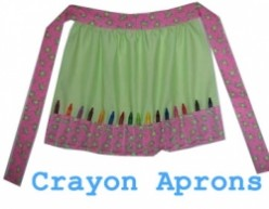 Crayon Aprons - The Toolbelt for Those Who Love Coloring