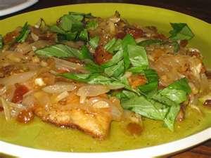 Secondo: Chicken Agrodolce