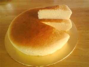 Light Japanese Cheesecake