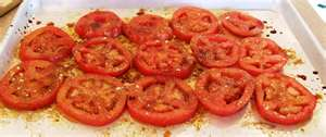 Kenyan Tomato Salad - great for two of my children who love tomatoes