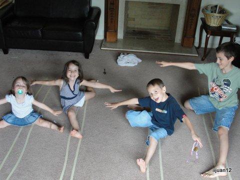 """Balance beam"" practice"