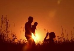 Image credit: http://footage.shutterstock.com/clip-2405138-stock-footage-happy-family-father-mother-and-baby-playing-at-sunset-silhouettes.html