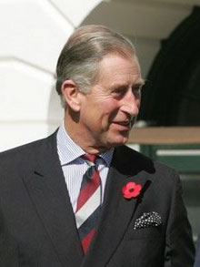 Charles, Prince of Wales. a former student