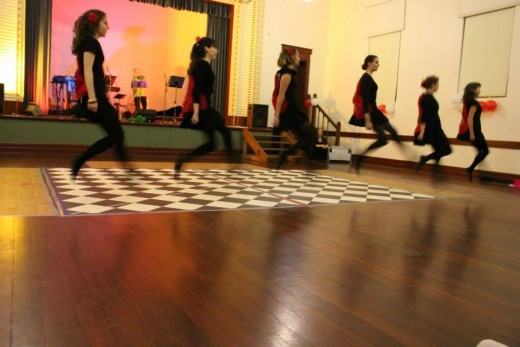 Dancing and dance teaching, and the great events I got to organise as part of that, definitely kept me sane.
