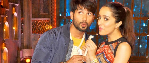 Bollywood's most talk of the town onscreen pair Shraddha Kapoor and Shahid Kapoor take small screen reality shows to promote their much-awaited film 'Haider'.
