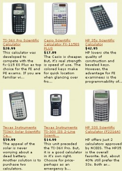 Best Calculators for the PE Exam