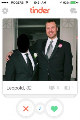 Leopold here is a serial offender. Just take a selfie, Leopold. You can switch to the front camera. I believe in you.