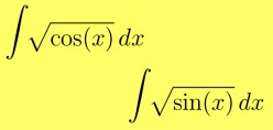 Antiderivative of Sqrt(Cos(x)) and Sqrt(Sin(x))