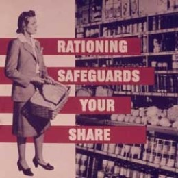 The wartime diet