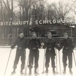 Eric Jackson, Berlin, winter 1945