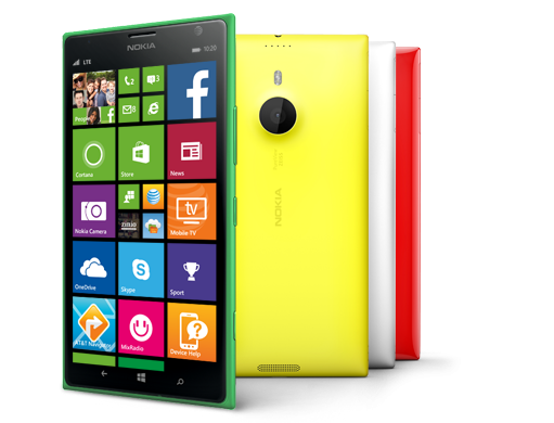 "The Nokia Lumia 1520 is the leading flagship ""phablet"" from Nokia & Microsoft Mobile."