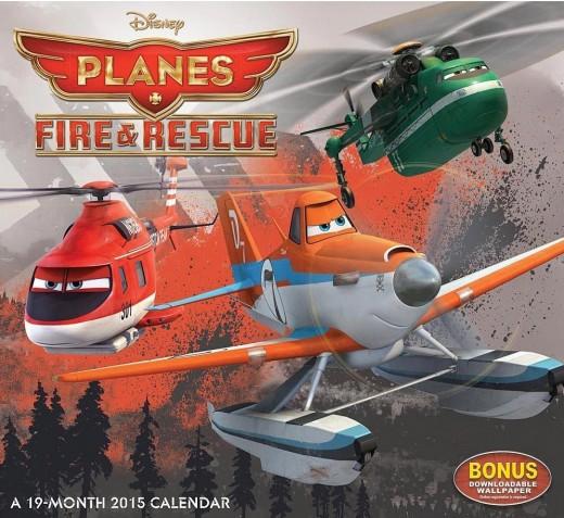 Disney Planes Fire & Rescue 2015 Calendar