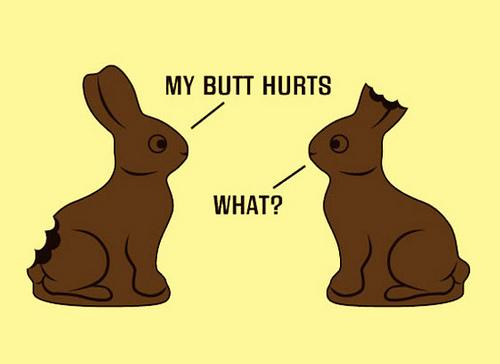 Chocolate Easter Bunny Joke
