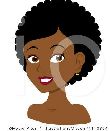 This girl probably just washed her hair, probably experienced shrinkage and is now rocking a TWA (Tiny Weeny Afro)