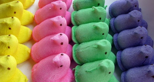 Chick Peeps of Many Colors