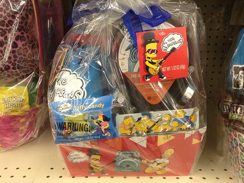 Simpsons Easter Basket