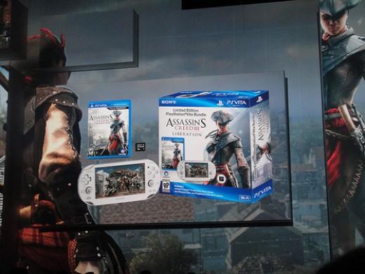 Sony PS Vita Assassin's Creed III Bundle