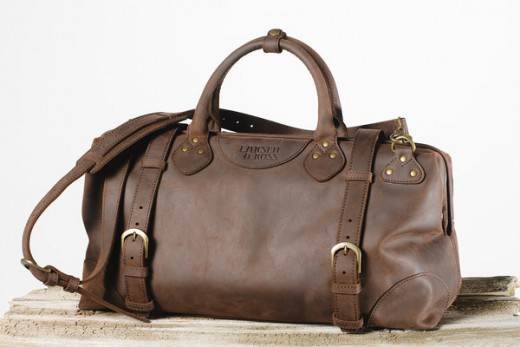 The weekend bag by Larsen and Ross is amazing.  It offers a product that will last a lifetime.