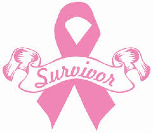 A Pink Survivor Ribbon for my Sister Paula.My Sister is a Survivor