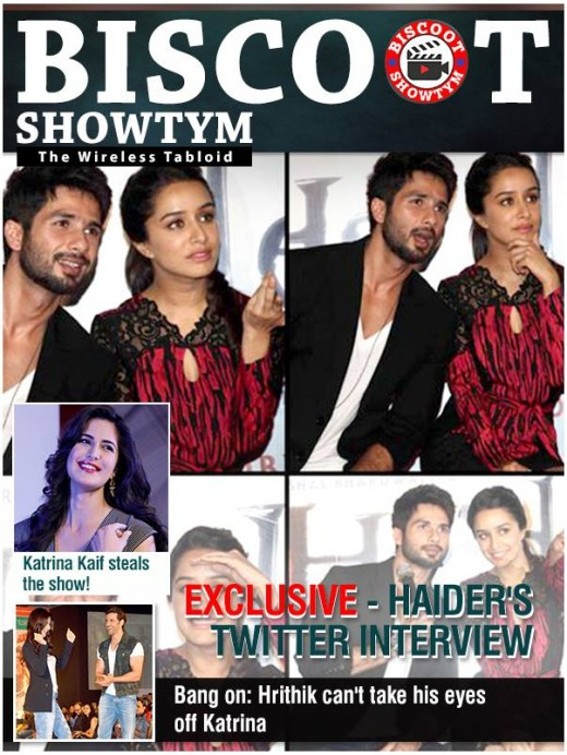 Check Bollywood latest gossip and scoops on Biscoot Showtym India's only digital tabloid. Get all exclusive B town new about upcoming movie and celebrities and much more entertainment