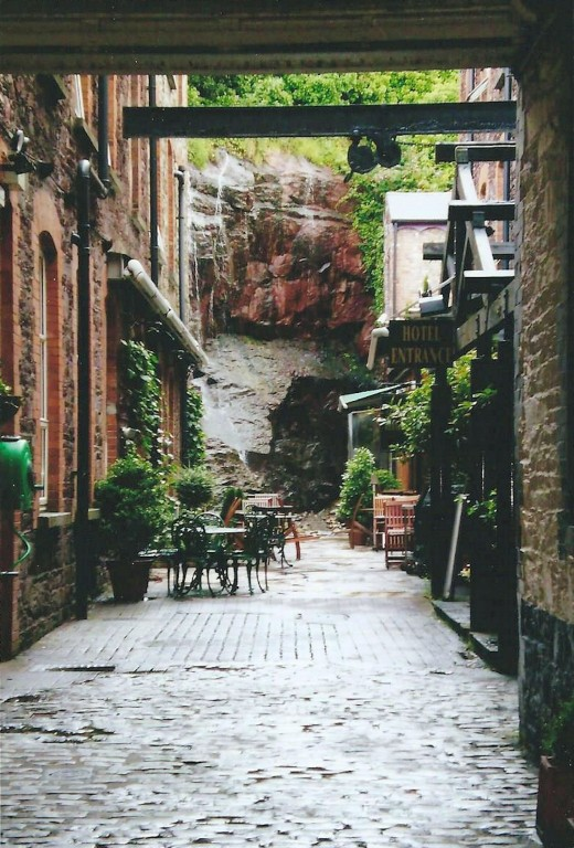 My photo of a cobbled laneway in Cork Ireland sells very well on postcards
