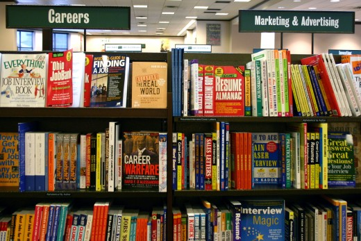 More resources can be found at your local bookstore in the Career section