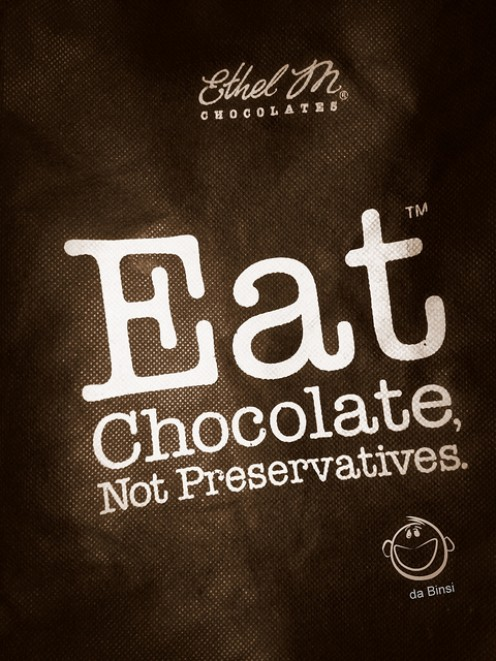 Eat chocolate it's good for you