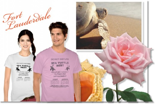 Sea turtle prints & t-shirts featured the artwork of Andy Royston